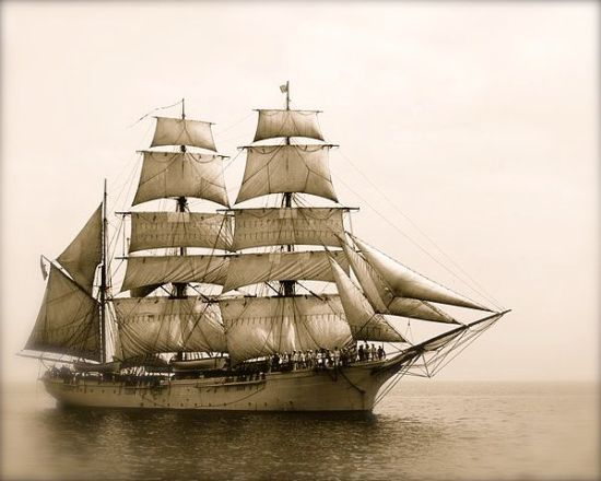 3-masted barque