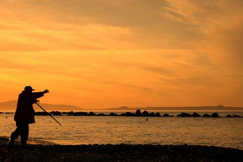 A fisherman in Sicily_by Aurelio Merenda