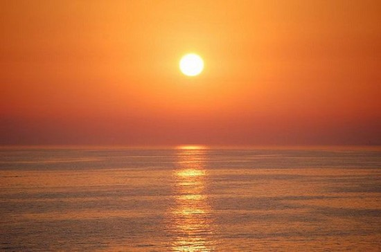 Sunset in Sicily_by Villa Ghimette